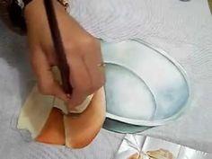 Pintura em Tecido - como pintar Pão e Tacho - how to paint bread and pot