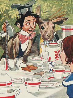 tea parti, alic adventur, parties, alice in wonderland, hatter tea, charl robinson, aliceinwonderland, mad hatter, book cover