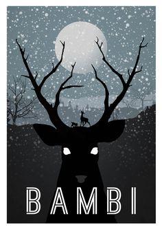 reimagined disney movie posters, rowan stocks-moore