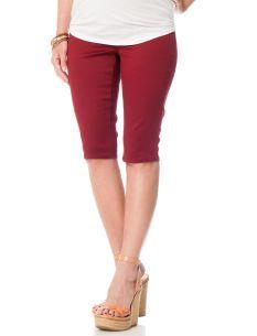 Celebrity Pink Jeans Secret Fit Belly� 5 Pocket Maternity Bermuda Shorts