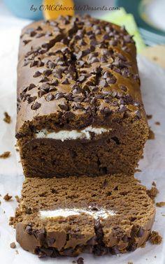 Cream Cheese Chocolate Bread - OMG Chocolate Desserts