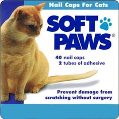 Easy to apply, safe and effective! The humane alternative to declawing, SoftPaws nail caps help protect from damage caused by scratching and are economical. Veterinarian developed. Made in the USA.