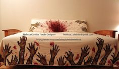 The most terrifying awesome duvet ever.