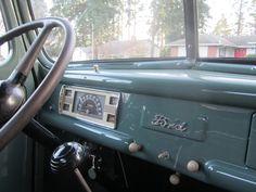 sweet vintage FORD truck!