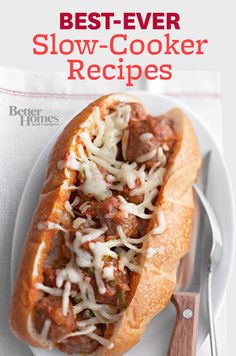 love this delicious collection of slow-cooker recipes!