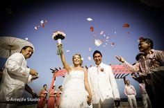 Wedding at Grand Bahia Principe Riviera Maya Resort http://www.bahia-principe.com/en/ by ARRECIFE