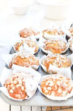 Apple & Oat Muffins #apple #recipe