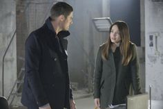 """Cat and Mouse"" Jay Ryan as Vincent and Kristin Kreuk as Catherine #BATB"