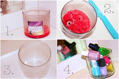 How to Reuse your Candle Jars!