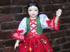 Hitty Hand Carved Wood Folk Art Doll Multi Jointed with Swivel Head | eBay