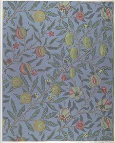 Fruit or Pomegranate William Morris  (British, Walthamstow, London 1834–1896 Hammersmith, London)