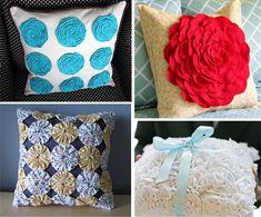 lots of pillow tutorials