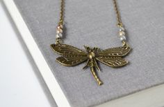 #DragonFly Necklace