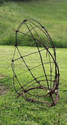 twig sculpture, by gooseflesh on flickr