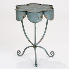 metal table for outside