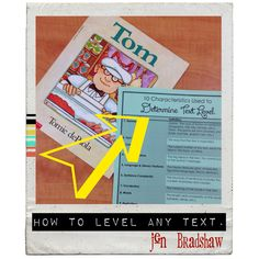 FREEBIE!  How to level any text!  Perfect for using any book or text for GUIDED READING!    #freebie #reading