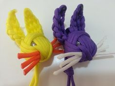 ▶ The Paracord Rabbit tutorial (The Easter Bunny) - YouTube