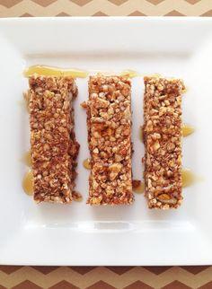 Grain Free French Toast Granola Bars. (Gluten/Dairy/Egg/Soy Free)