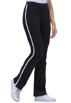 Woman with in Women`s Plus Petite Stretch Yoga Pant for only $24.77 You save: $10.00 (29%)