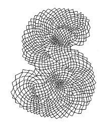 S sketch by Hansje van Halem