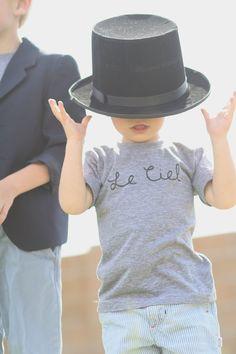 Le Ciel - Kids Boy Toddler via Etsy.