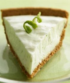 This recipe from Shape Magazine for Key Lime Yogurt Pie looks amazing, and only 160 calories a slice!