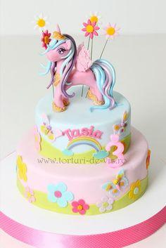 My Little Pony Baby Shower Cake