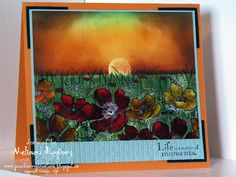 """Porch Swing Creations: Matter of Moments **** created by card artist Melissa Banbury using SU """"Fabulous Florets"""", """"Nature Walk"""", & """"Elements of Style"""""""