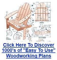 Adirondack Chair Plans | Adirondack Chair Plans | Over 15 Free Plans Including Shelters