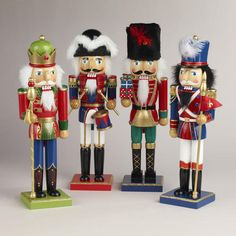 One of my favorite discoveries at WorldMarket.com: Traditional Nutcrackers