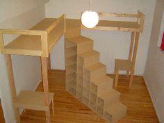 loft bed, bunk beds, bookcas, kid rooms, boy rooms, small rooms, dream kids rooms, dorm rooms, bedroom