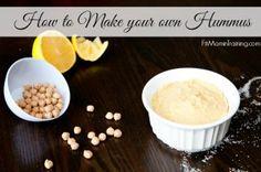 My Homemade Hummus Recipe