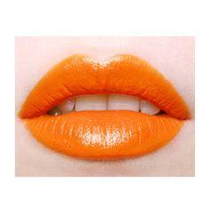 Candyfuture Opaque Lipstick-so wish i could pull off orange lipstick