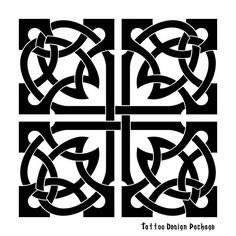 Celtic design would make a beautiful quilt pattern