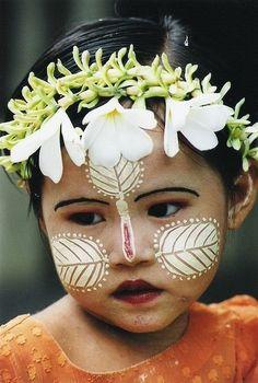 faustinepau:  Child of Burma. Birmanie