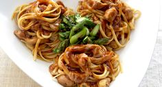BBQ Chicken Linguine