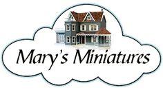 Dollhouse Miniatures for All Seasons | Mary's Miniatures