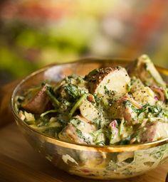 Creamy Dill Potato Salad - Vegan