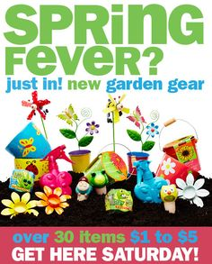 New #spring stuff just in!  Everything $1 to $5!