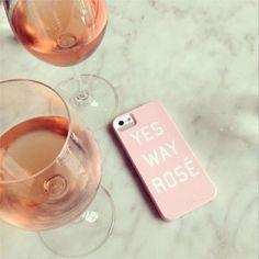 rose wine, phone case