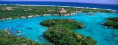 Xel-Ha. A beautiful ecological park in Quintana Roo, Mexico where you can't HELP but relax!