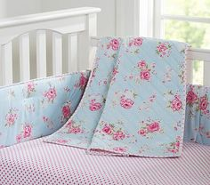 Savannah Nursery Bedding #PotteryBarnKids