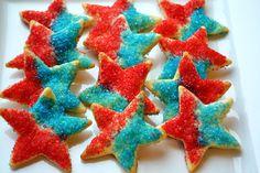 Sweetology: Patriotic Pie Crust Stars! pie crusts, star