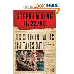 11/22/63 by Stephen King. One of the best books I have read this year!