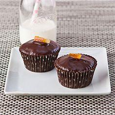 Chocolate Orange Cupcakes, Gluten Free