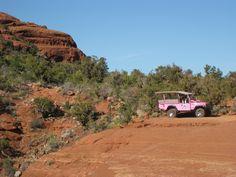 Sedona, AZ Pink Jeep Tour