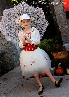 DIY Mary Poppins costume.. Jolly Holiday!