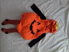 FOR SALE: Gender neutral pumpkin halloween costume size 18-24 months | Cloth Diaper Trader