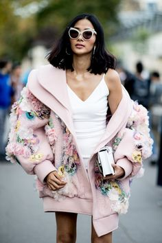 juilletdeux: Paris Street Style - Pink Luxury
