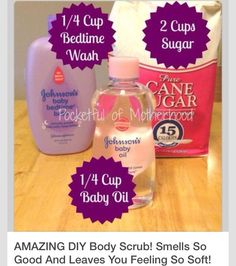 Amazing DIY Body Scrub